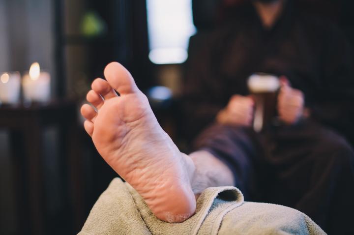 Back Facials, Ale-ing Foot Soaks and Men's Facials