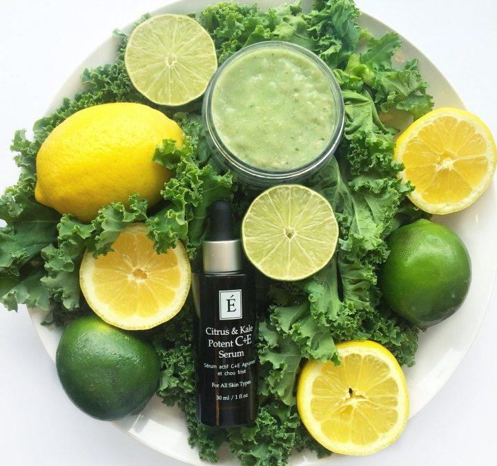 August Spa Member Gift: Citrus & Kale Potent C+E Masque