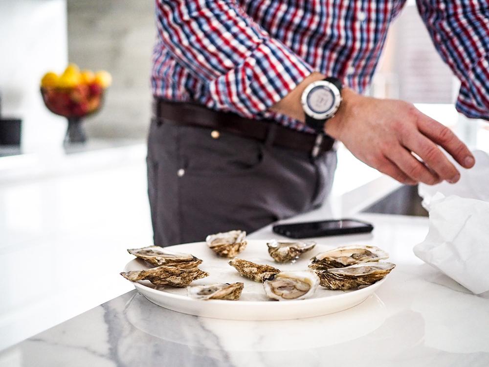 oysters aphrodisiac snacks